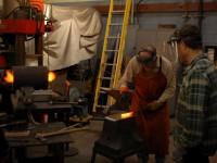Forging starts