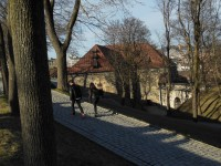 iew inside of Akershus