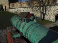 Another bronze gun at Akershus