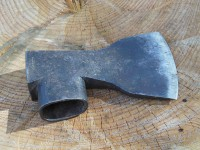 Another view of the Carpenter's Axe that Mattias is reproducing.  It is beautifully done.
