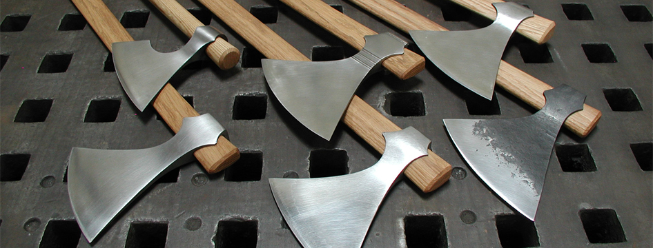 Forge-welded Axes For Sale