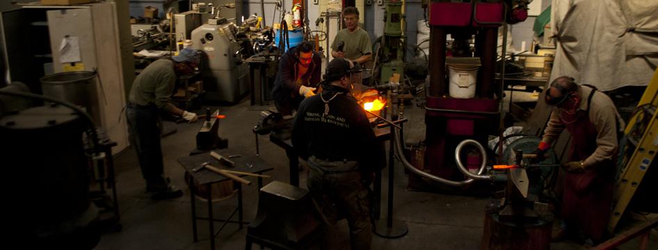 Advanced Blacksmithing Classes